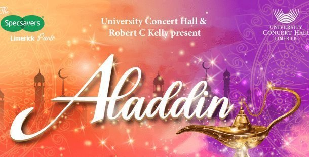 aladdin university concert hall limerick panto best pantos in Ireland