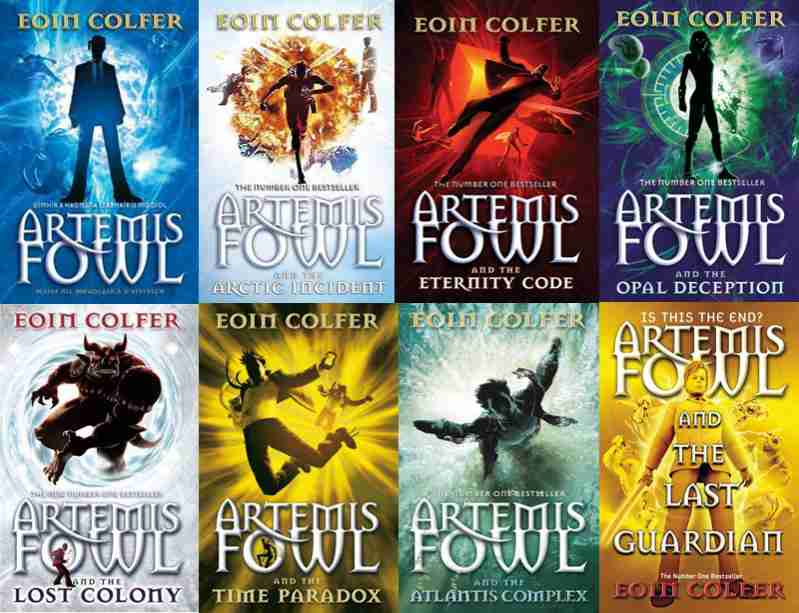 artemis fowl book series