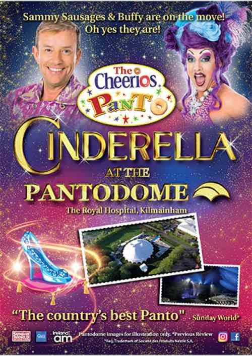 cheerios panto 2019 cinderella best pantos in Ireland