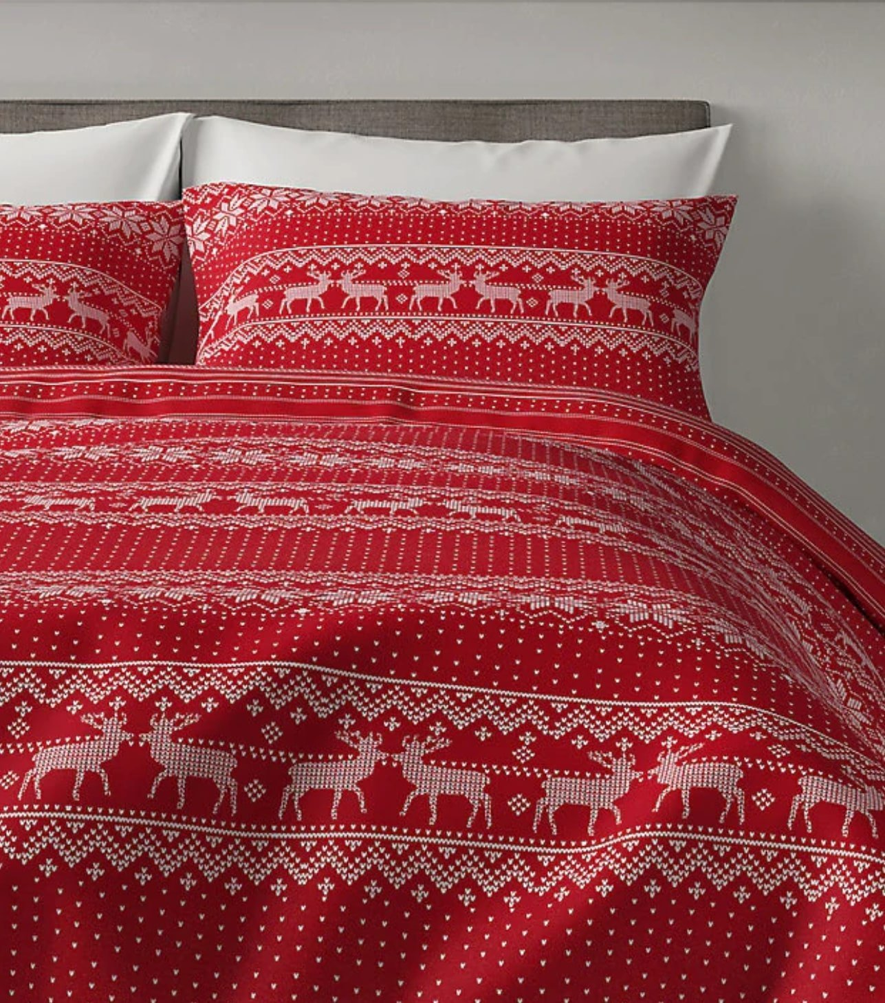 christmas bedding from M&S mad about Christmas