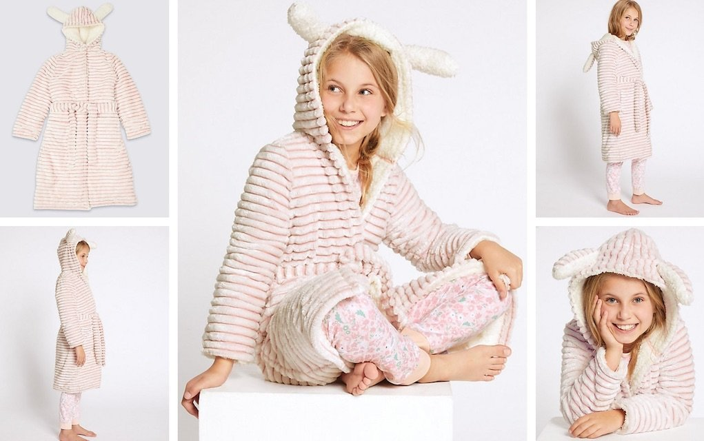 cosy dressing gown from M&S mad about Christmas