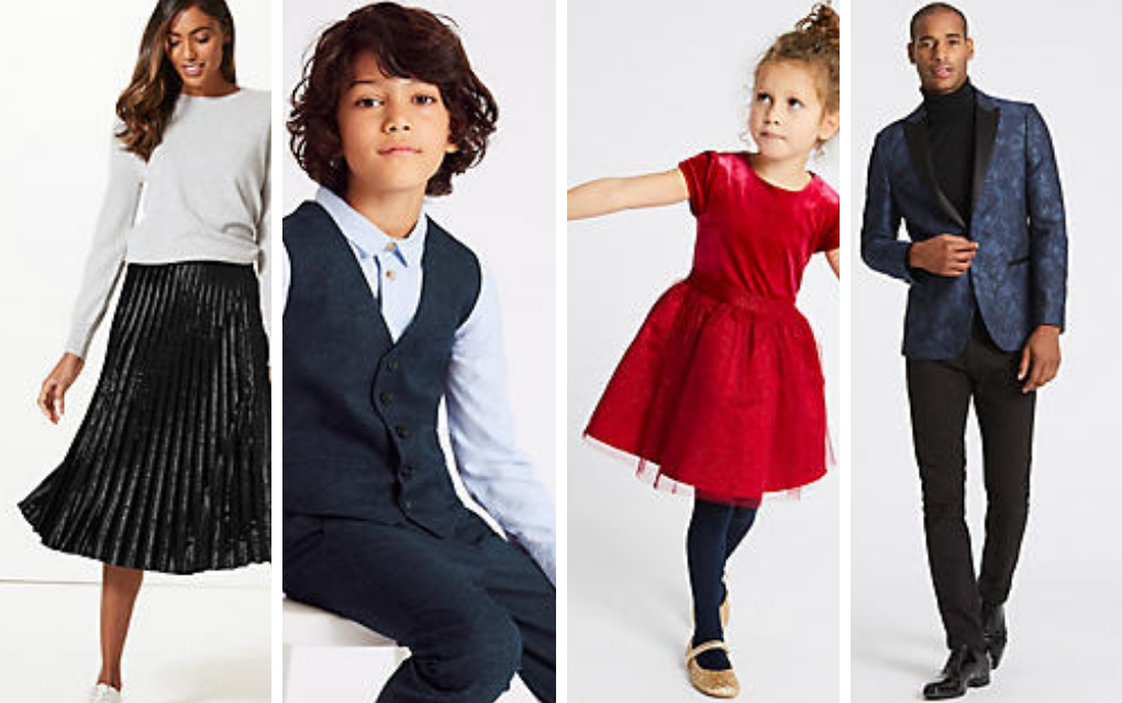 Win Your Christmas Outfits from M&S