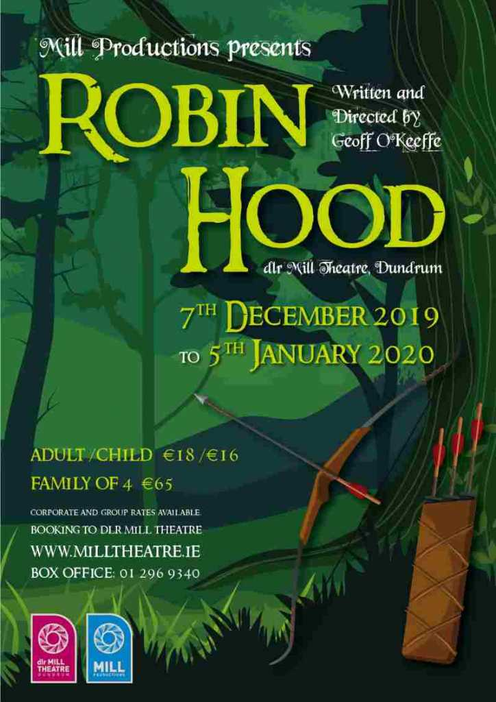 Robin Hood Panto at dlr Mill Theatre