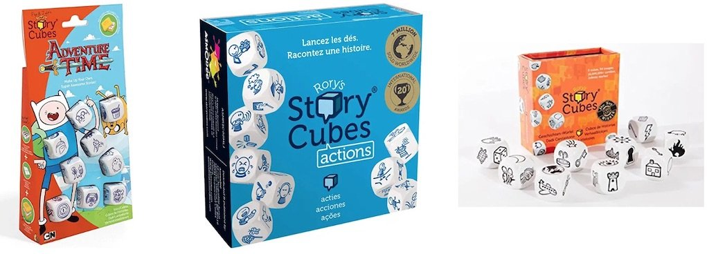 rorys story cubes Christmas gifts for kids