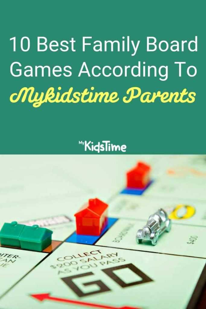 10 Best Family Board Games according to Mykidstime Parents