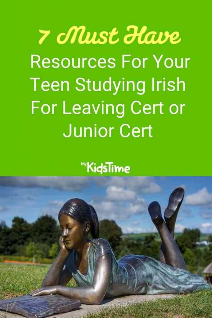 Resources For Your Teen Studying Irish For Leaving Cert or Junior Cert