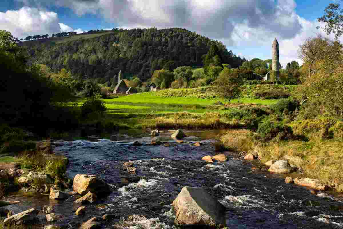 Glendalough for places to learn about Irish history