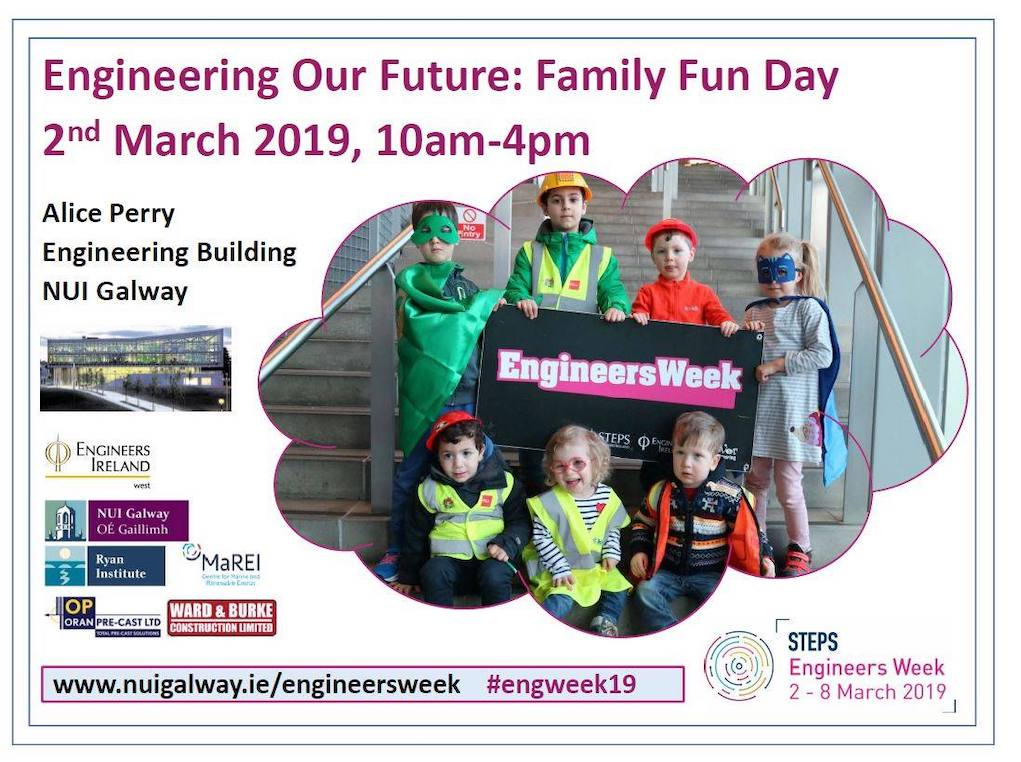NUI Galway Engineering Our Future Family Fun Day
