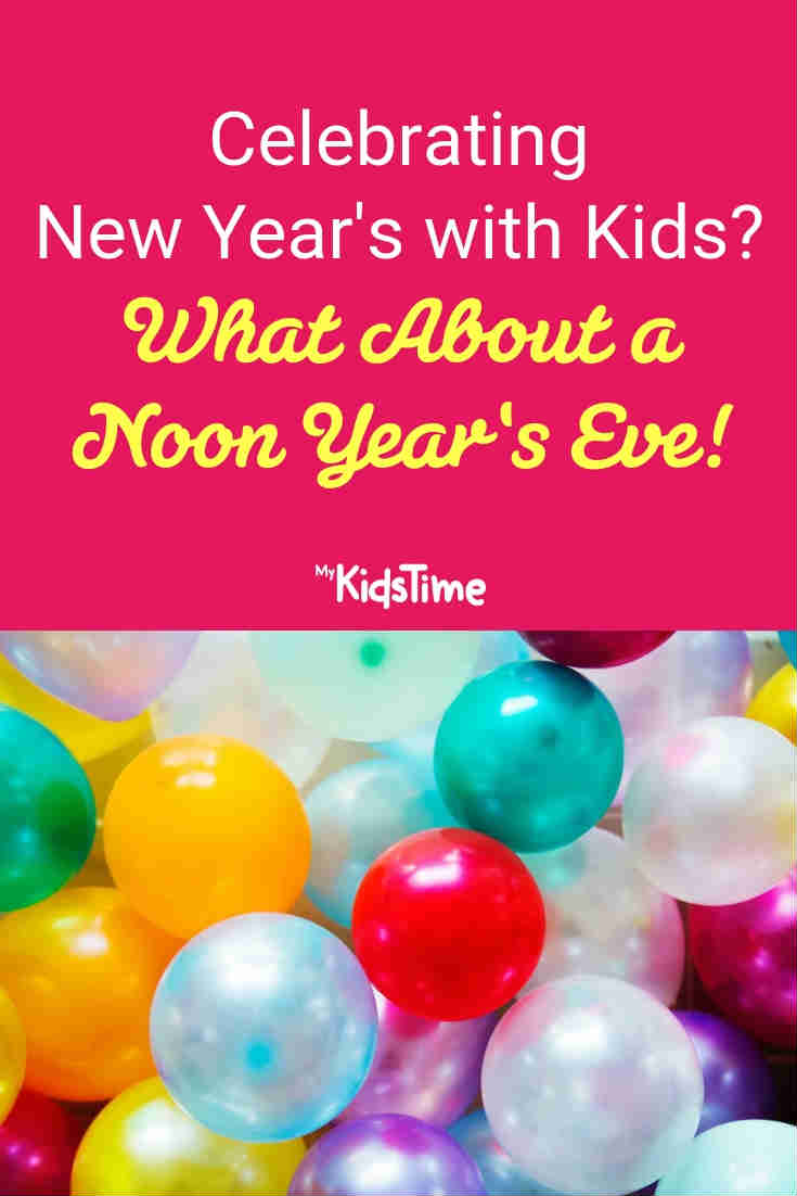 Mykidstime noon year's eve party balloons