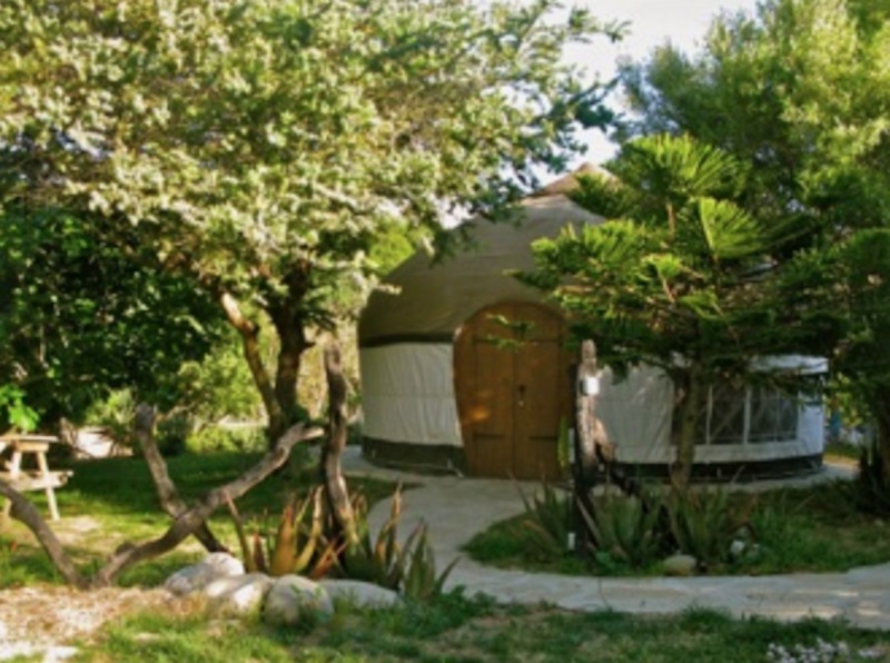 Yurts Tarifa best family campsites in Spain