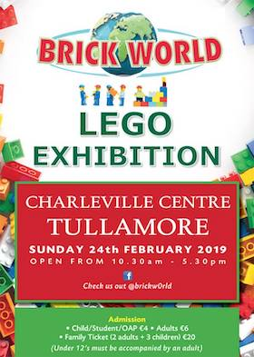 Brick World Lego Exhibition Tullamore
