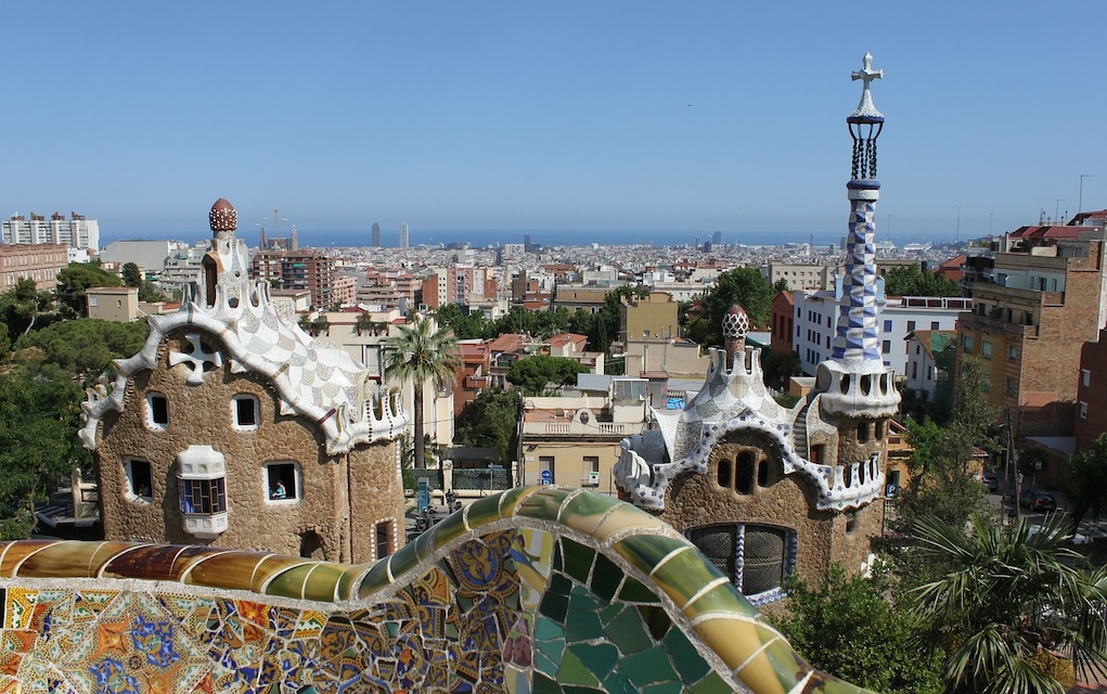 parc-guell Spain Best family campsites in Spain