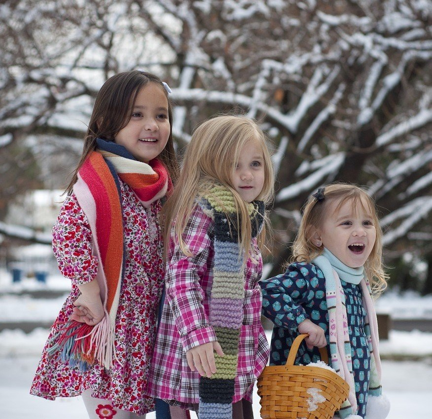 winter walks outdoor activities for kids