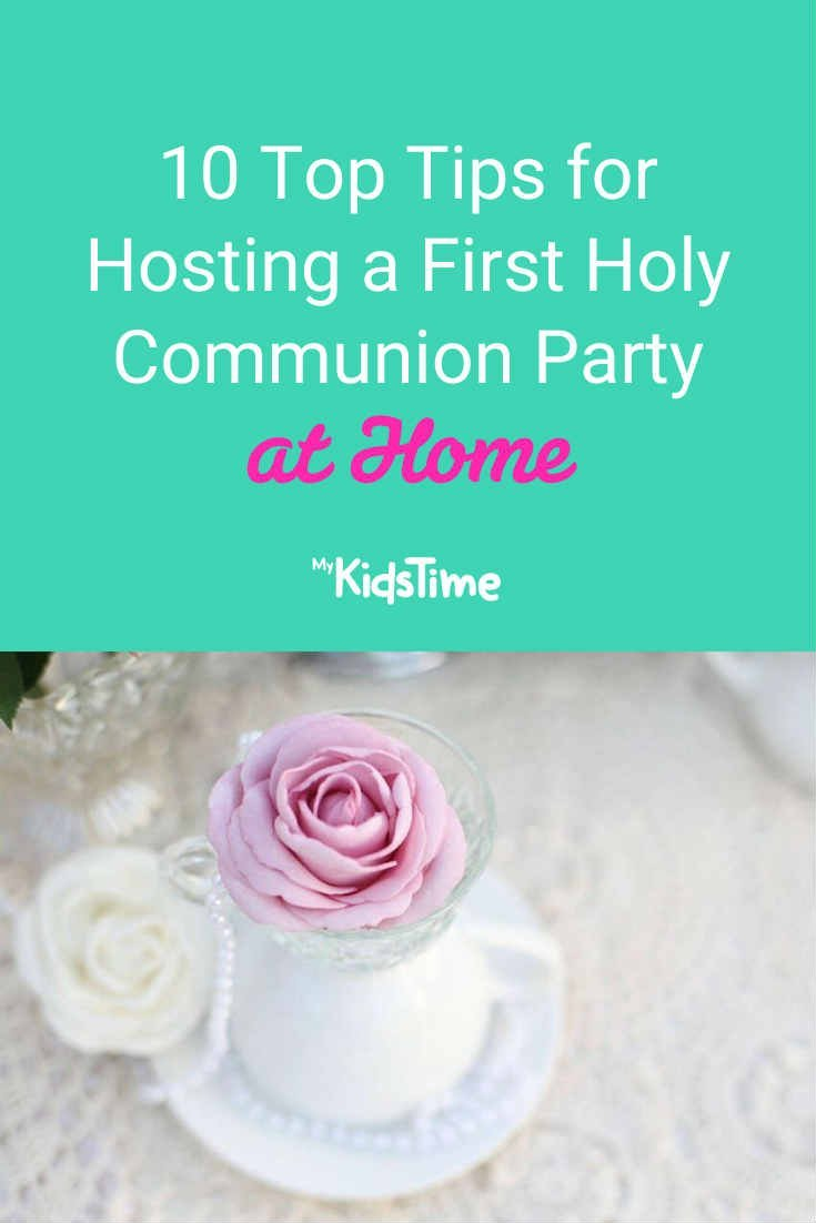 10 Top Tips for Hosting a First Holy Communion Party at Home