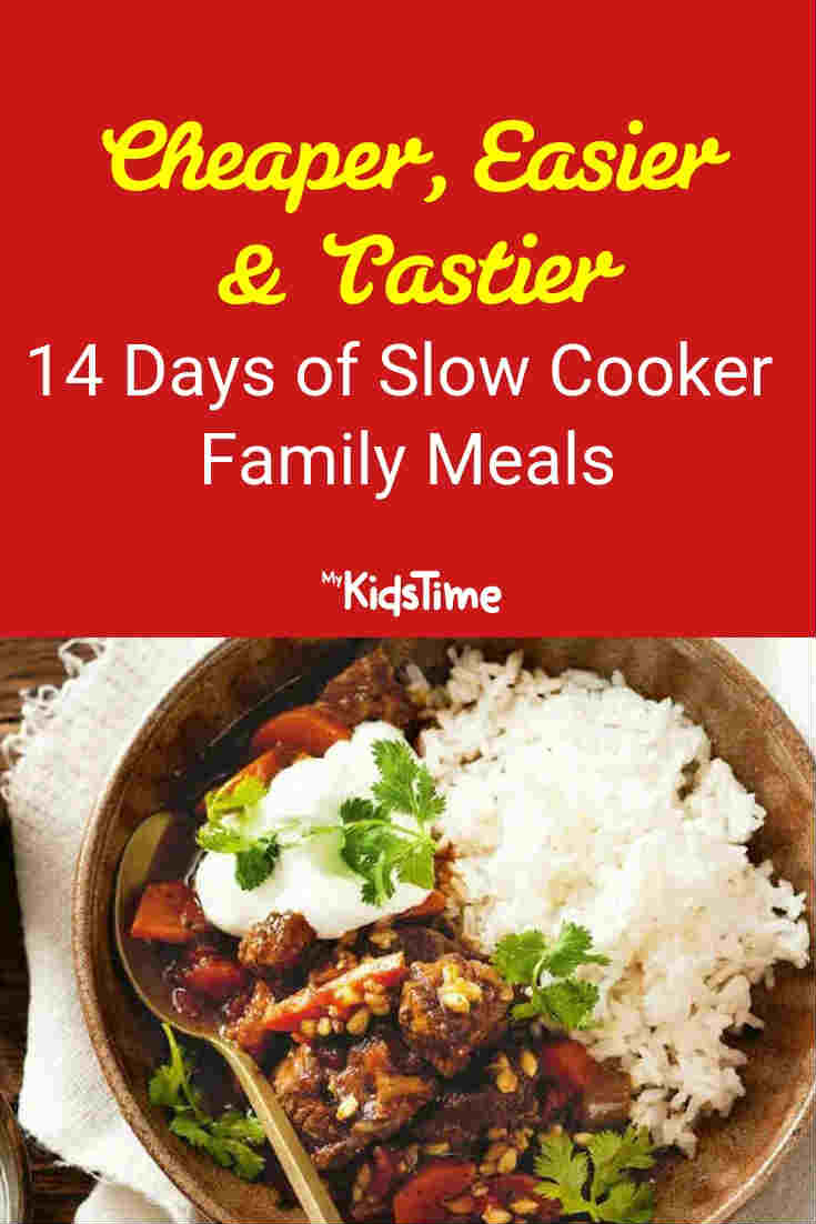 14 Days of Slow Cooker Family Meals - Mykidstime