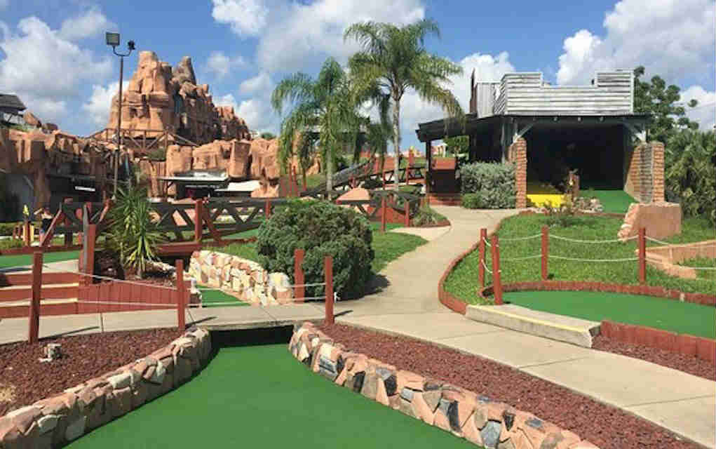 Mykidstime Mini Golf in Orlando Bonanza Golf Kissimmee