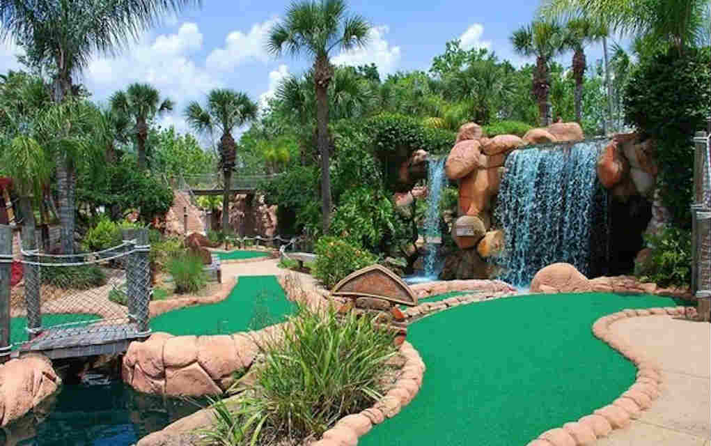 Mykidstime Mini Golf in Orlando Congo River Golf