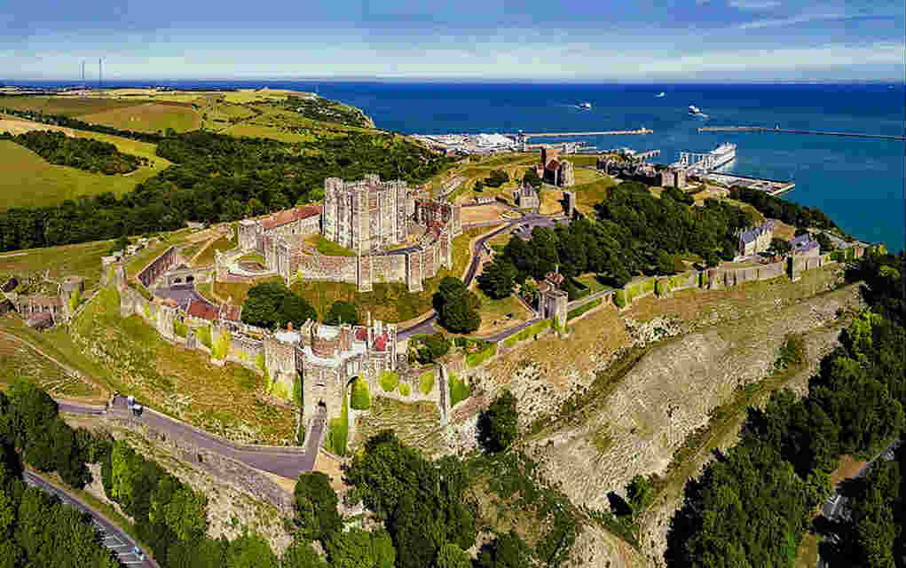 Dover Castle - Mykidstime castles in England, Scotland and Wales