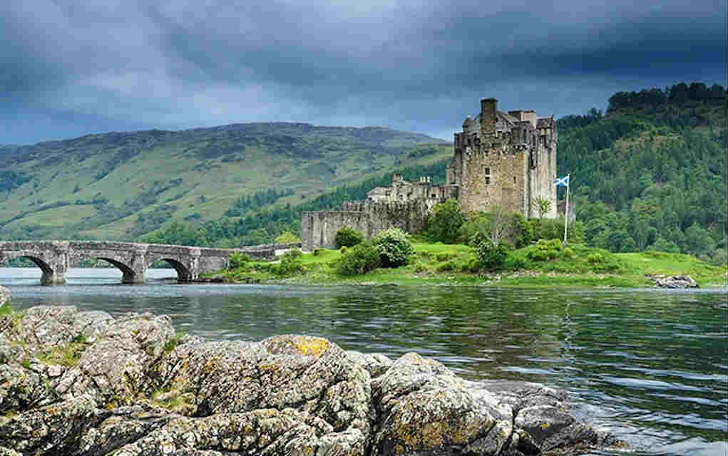 Eilean Donan Castle - Mykidstime castles in England, Scotland and Wales