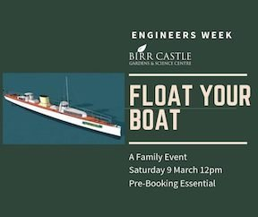 float your boat workshop at Birr Castle