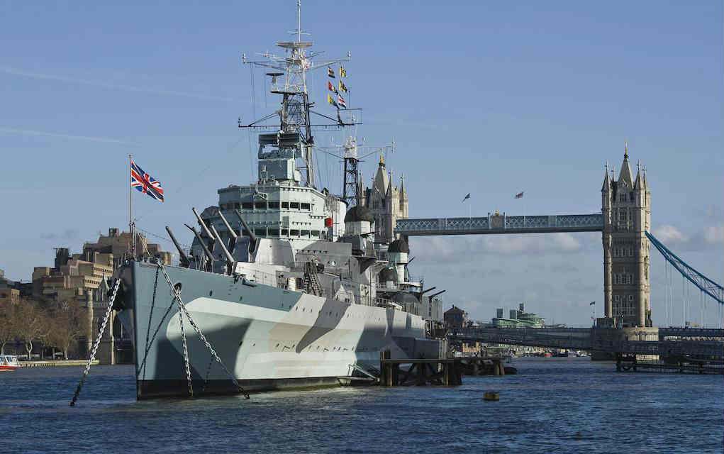 HMS Belfast - Mykidstime Things to Do in London with kids