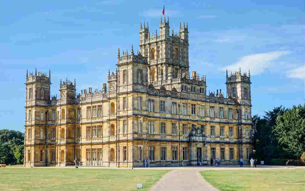 Highclere Castle - Mykidstime castles in England, Scotland and Wales