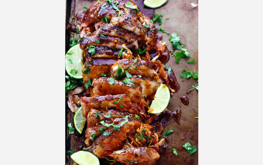 Honey Lime and Ginger Pork - The Recipe Critic - Mykidstime slow cooker family meals