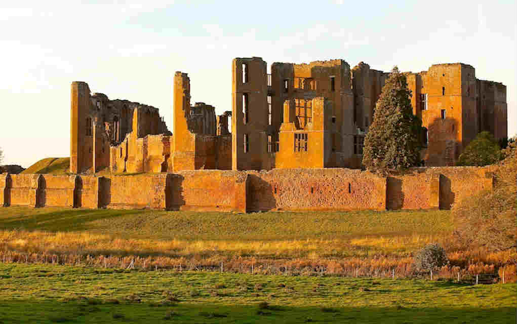 Kenilworth Castle - Mykidstime castles in England, Scotland and Wales
