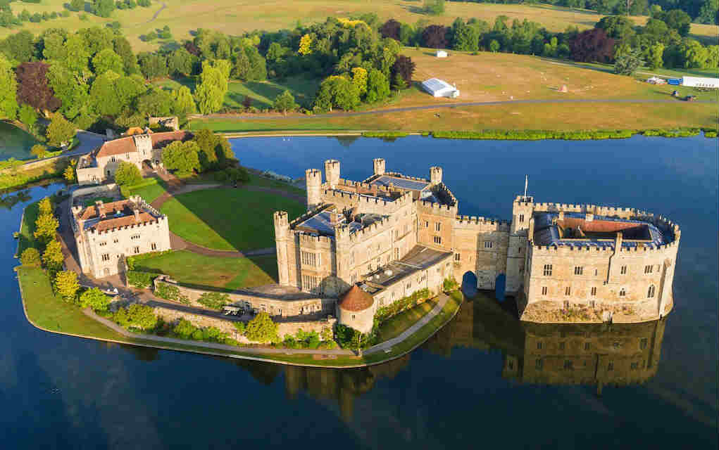 Leeds Castle - Mykidstime castles in England, Scotland and Wales