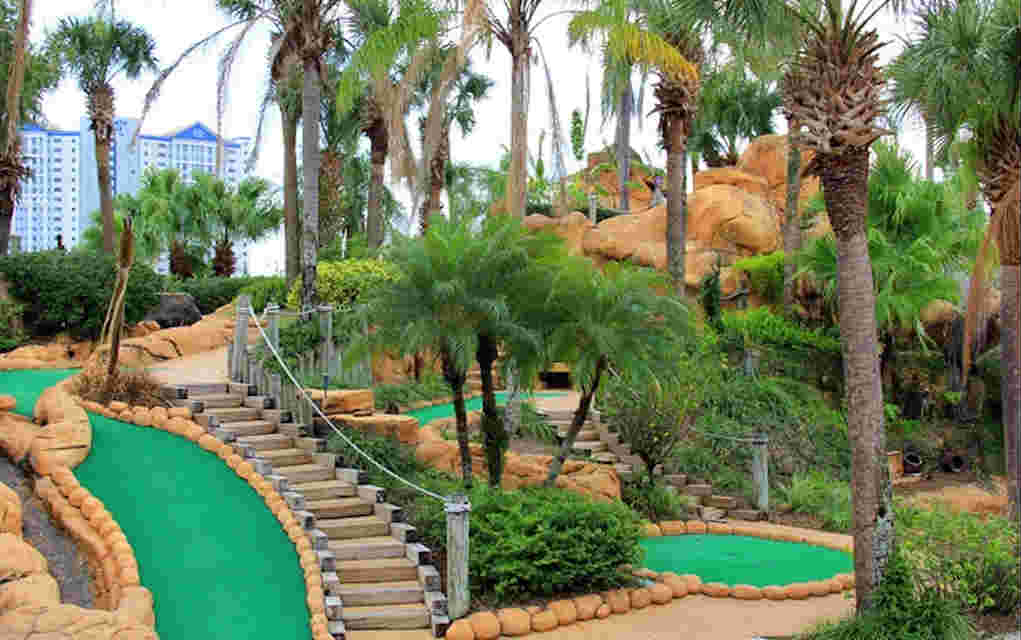 Mykidstime Mini Golf in Orlando Lost Caverns Adventure Golf