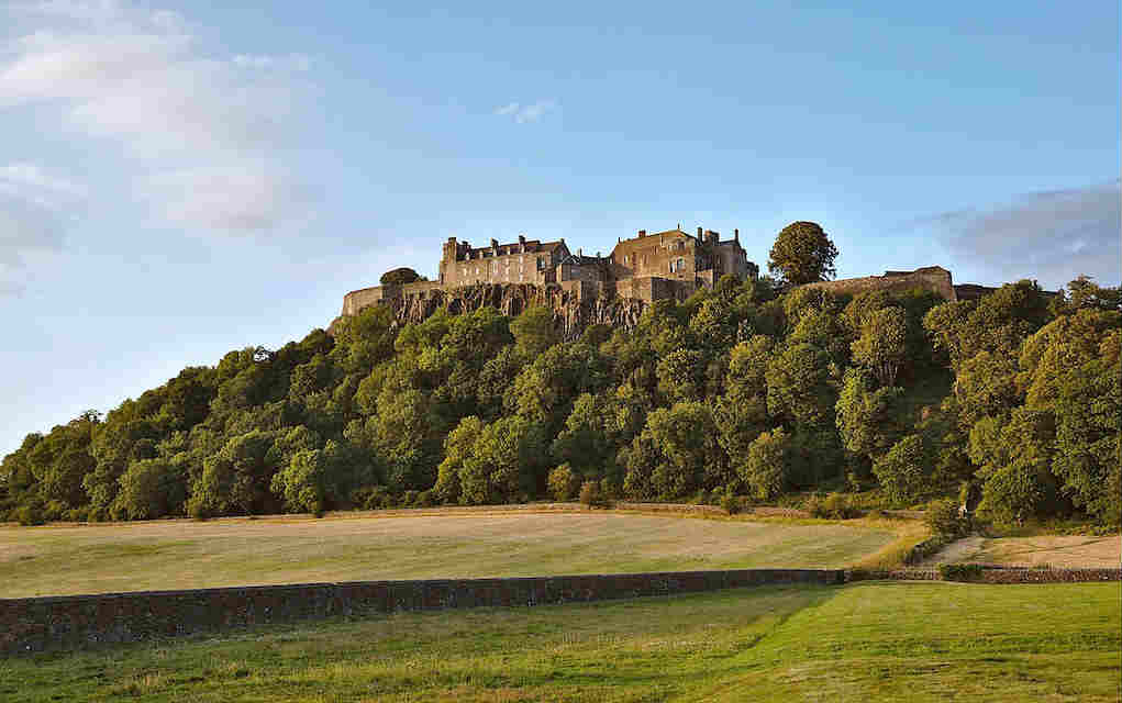 Stirling Castle - Mykidstime castles in England, Scotland and Wales