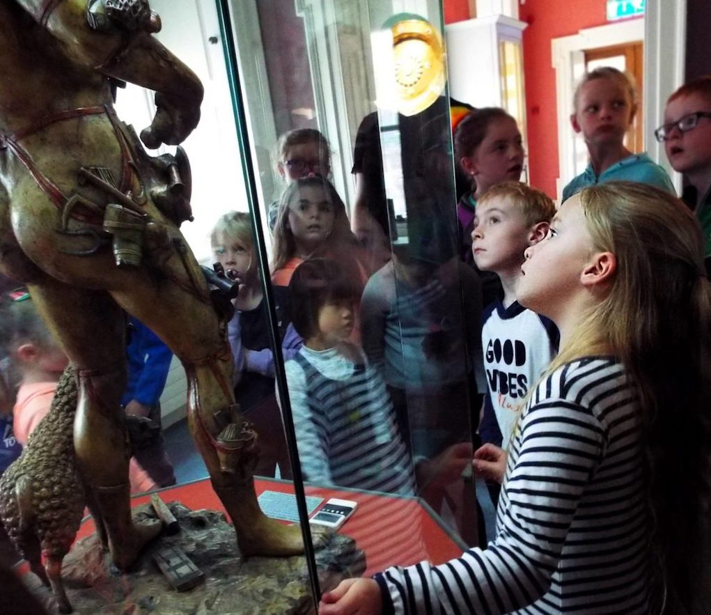 The Hunt Museum discovery trail things to do during February midterm