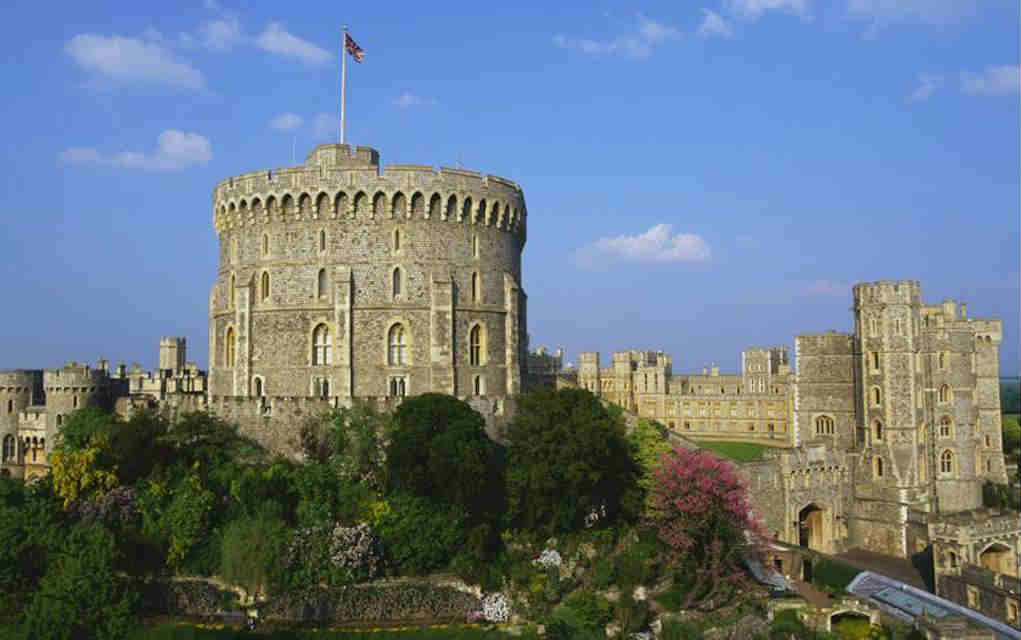 Windsor Castle - Mykidstime castles in England, Scotland and Wales