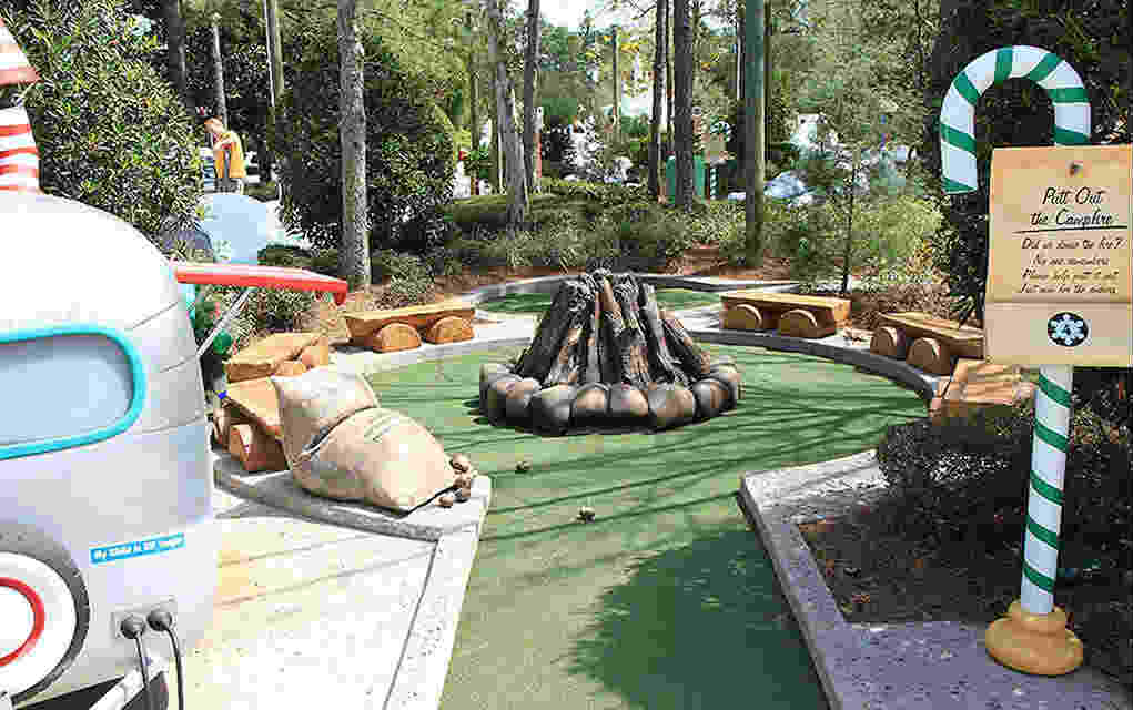 Mykidstime Mini Golf in Orlando Winter Summerland Mini Golf