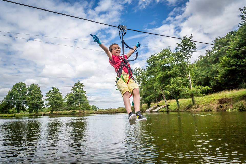 chateau la foret zipwire resorts for families in France