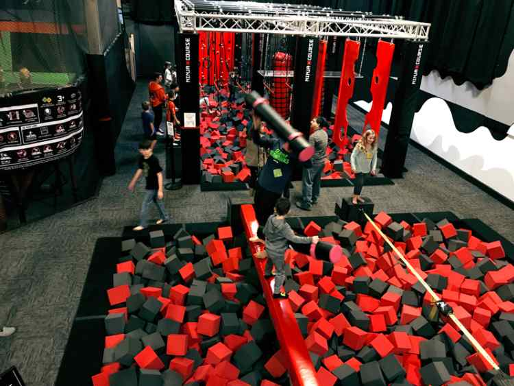 ninja course elevated sportz