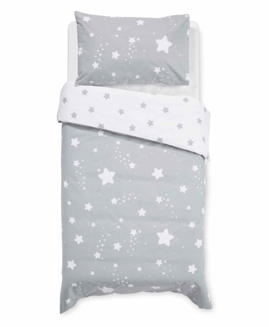 star cot duvet set
