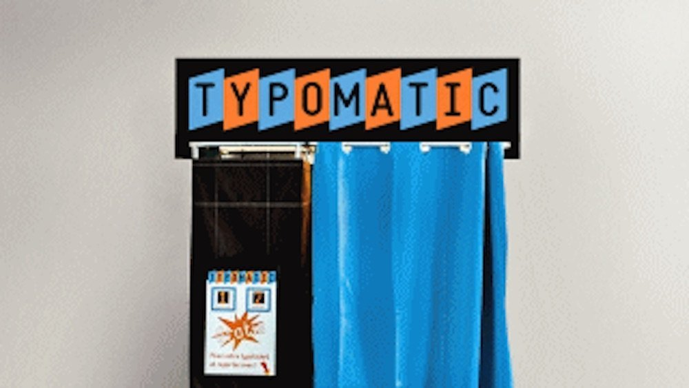 typomatic at Alliance Francasie Dublin