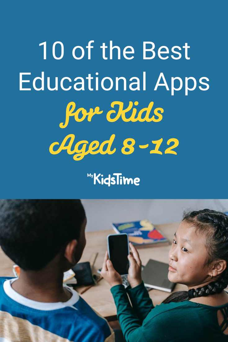 10 Of The Best Educational Apps For Kids Aged 8-12 1