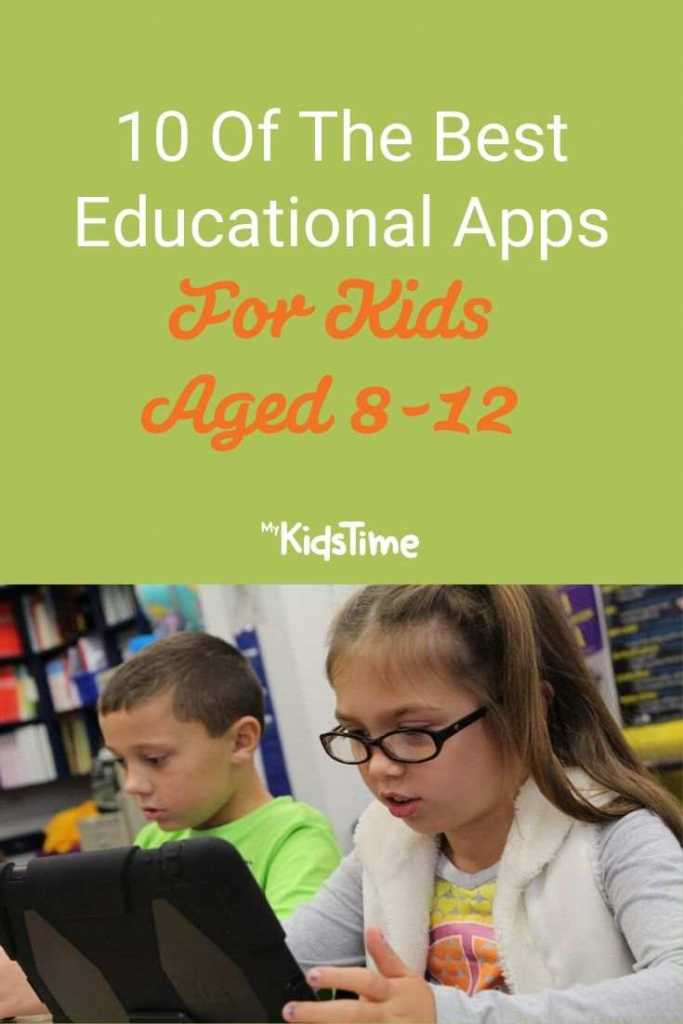 10 Of The Best Educational Apps For Kids Aged 8-12