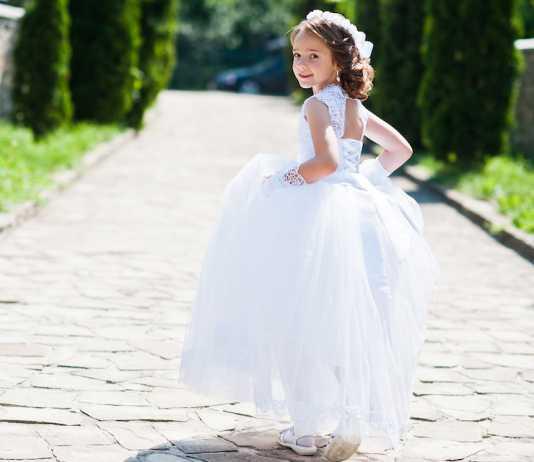 Mykidstime First Communion Hairstyles for girls