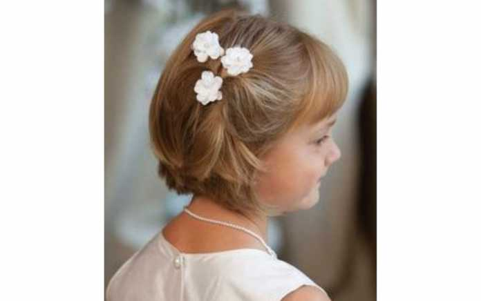 48 Simply Stunning First Communion Hairstyles For Girls