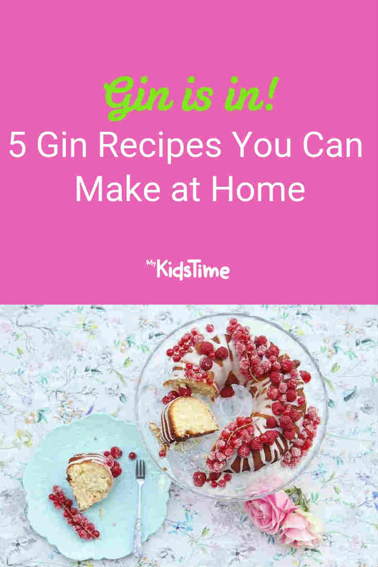 Gin Recipes You Can Make at Home - Mykidstime