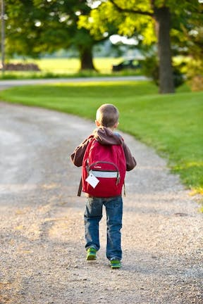 Great Ways To Budget And Save As A Family walk to school