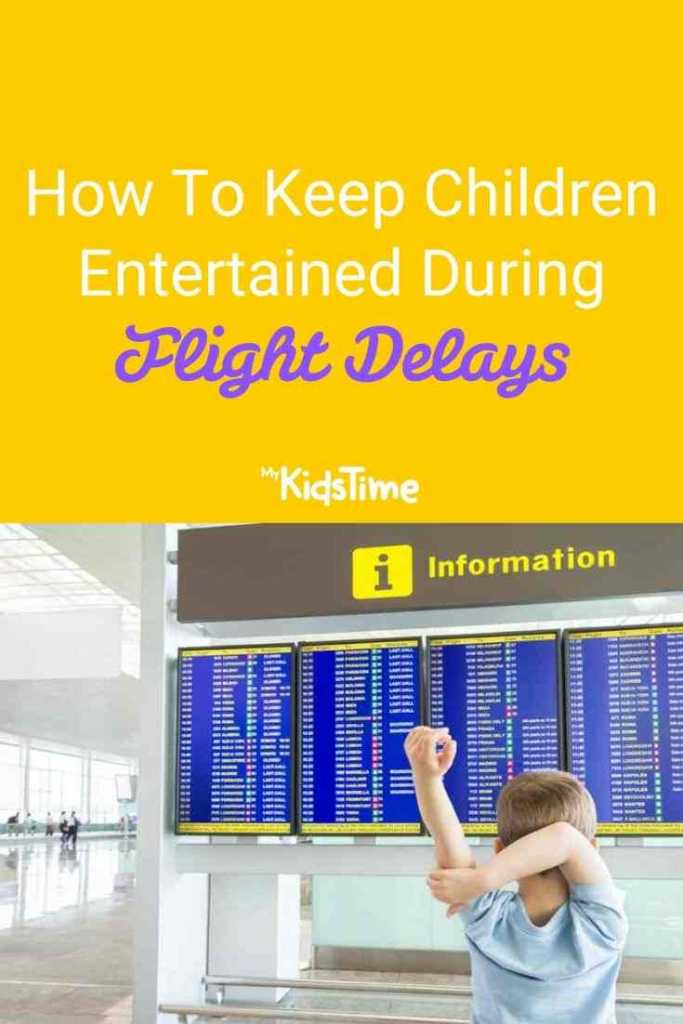Keep Children Entertained During Flight Delays