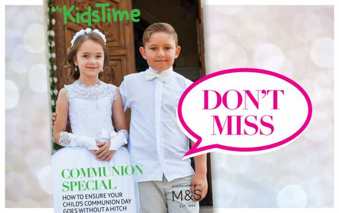 Communion Day Mini Magazine with M&S