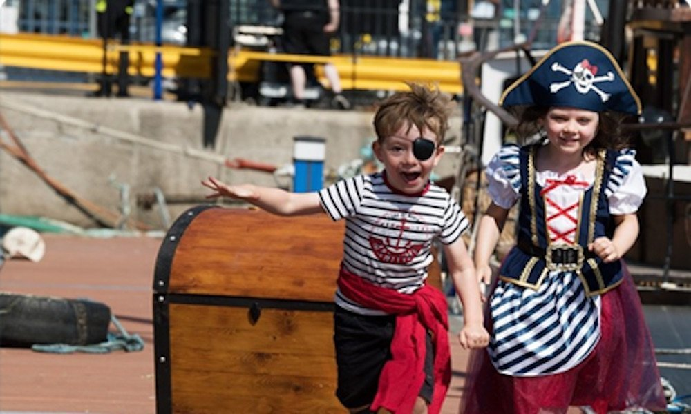 Seafest 2019 kid-pirates