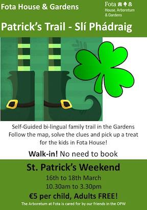 St Patricks Weekend at Fota house and gardens