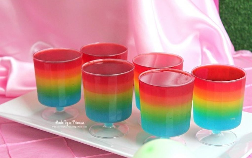 Unicorn Jello - Made by a Princess - Mykidstime unicorn party food