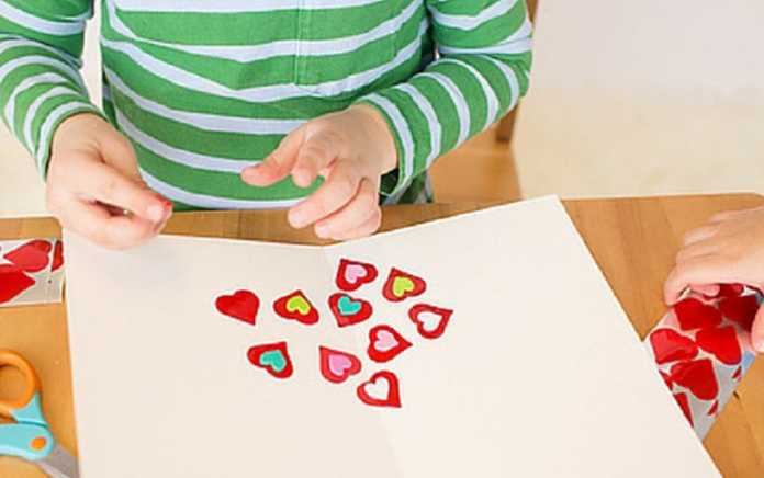Valentine Crafts for Toddlers & Preschoolers